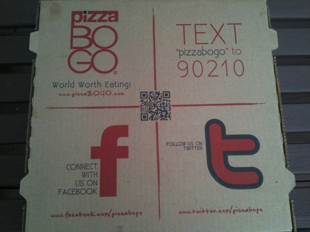 pizza social media