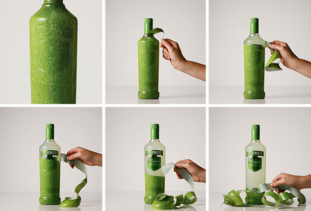 creativo packaging smirnoff