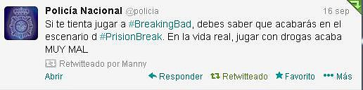 policia breaking bad