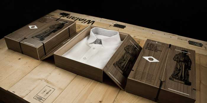 camisa packaging
