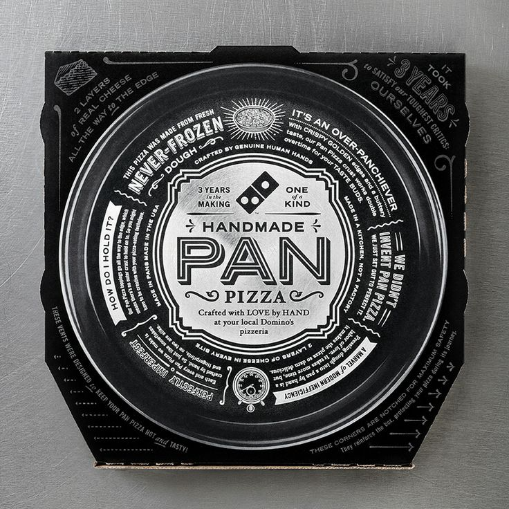 dominos pizza packaging